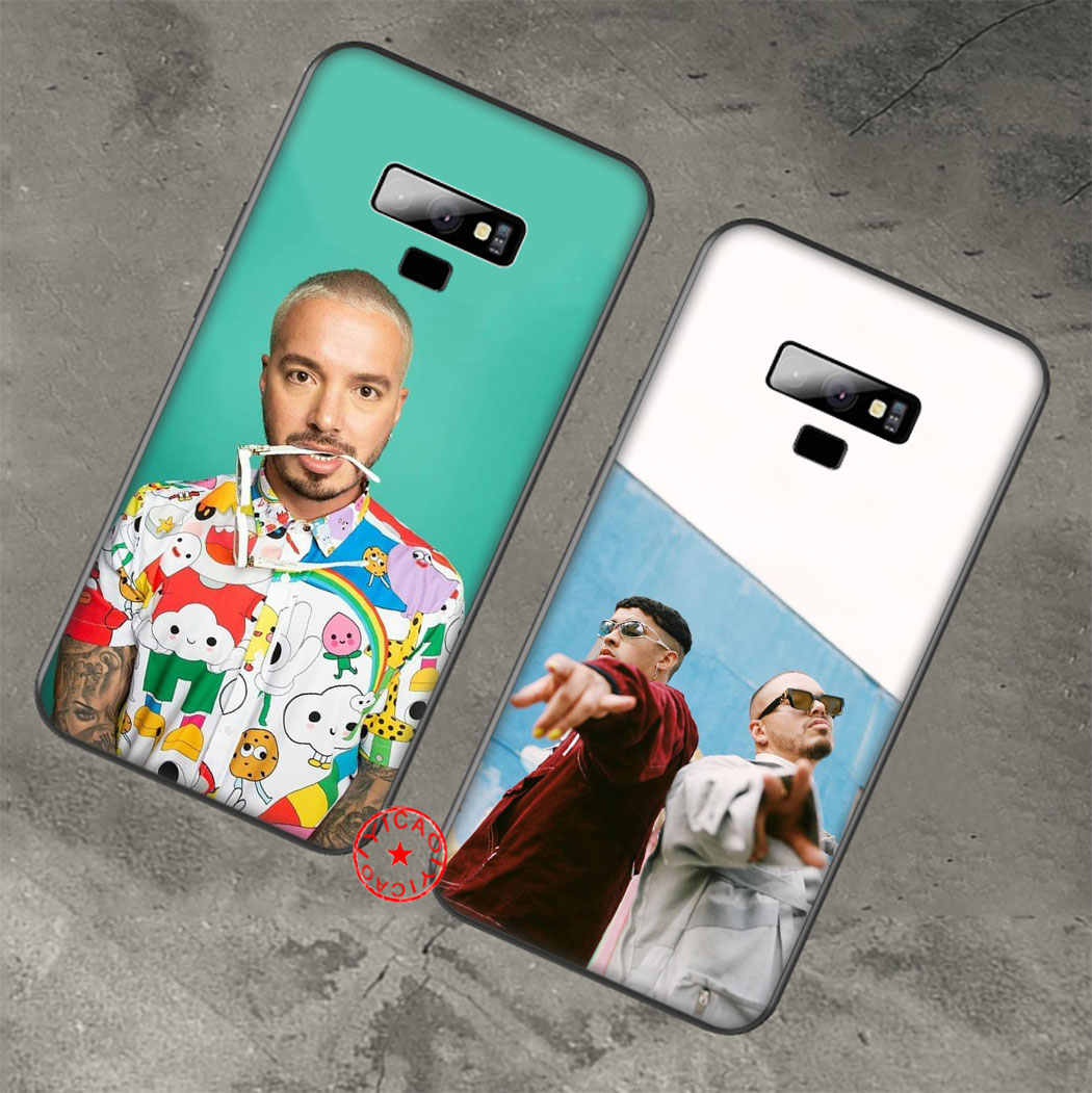 Reggae SINGER J Balvin ซิลิโคนนุ่มสำหรับ Samsung Galaxy A70S A20E A2 J4 J6 Core PLUS PRIME J7 Duo j8 TPU COVER
