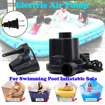 цена на Electric Air Pump For Swimming Pool Inflatable Sofa Fast Inflator Swimming Pool inflatable boat sofa bathtub swimming ring bed