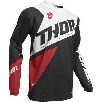 Pro de la motocicleta de la bici de la suciedad MTB Tops de manga larga transpirable Motocross camiseta de competición Maillot Ciclismo