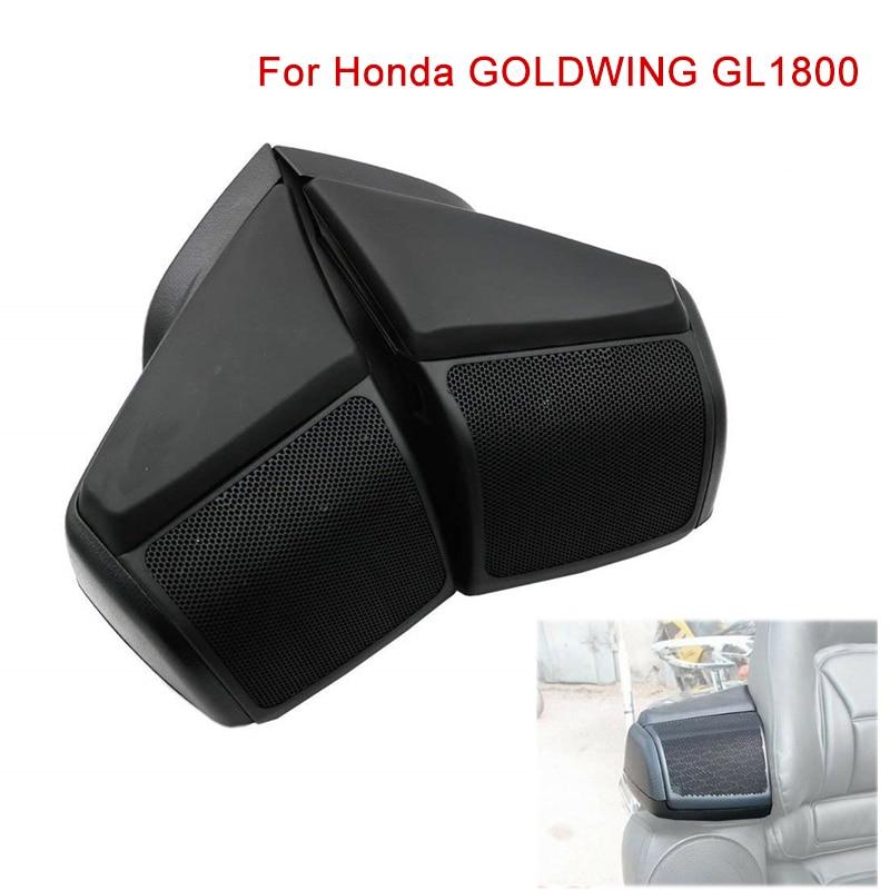 GL 1800 moto haut-parleur couvercle haut-parleur boîte bouclier garde carénage pour Honda GOLDWING 1800 GL1800 or aile noir ABS