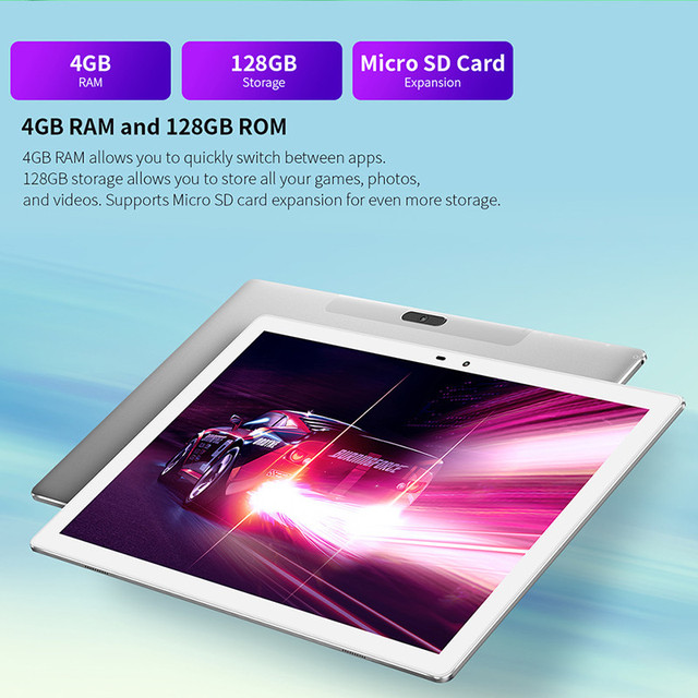 Teclast M30 Pro 10.1 Inch Tablet P60 8 Core 6GB RAM 128GB ROM Android 10 Tablets PC 1920x1200 IPS 4G Call Dual Wifi GPS 5