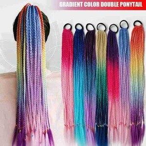 Girls Elastic Hair Band Rubber