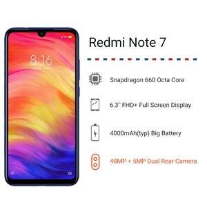 "Image 2 - Global Version Xiaomi Redmi Note 7 4GB 64GB Snapdragon 660 AIE Octa Core Smartphone 6.3"" Full Screen 48MP Rear Camera Cellphone"