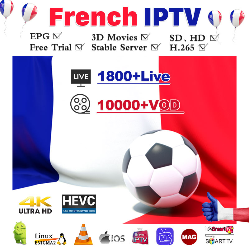 Neotv Pro French Iptv Subscription Live TV VOD Sports Android M3u Enigma2 Mag Smart Tv Arabic France Belgium One Year IPTV Code