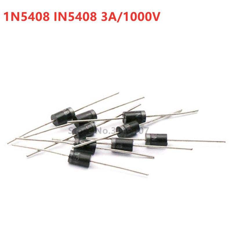 20PCS/LOT IN5408 1N5408 3A 1000V DO-27 Rectifier Diode New