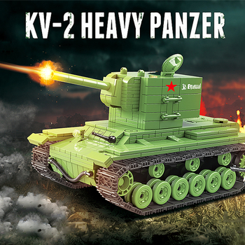 Bloques de construcción de modelo de la serie de tanques Russian... soldado...