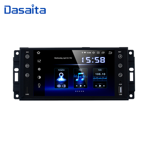 "Image 1 - Dasaita 7"" Android 9.0 Car GPS Stereo Radio for Jeep Wrangler Chrysler Dodge Commander Compass Patriot Grand Cherokee Liberty"