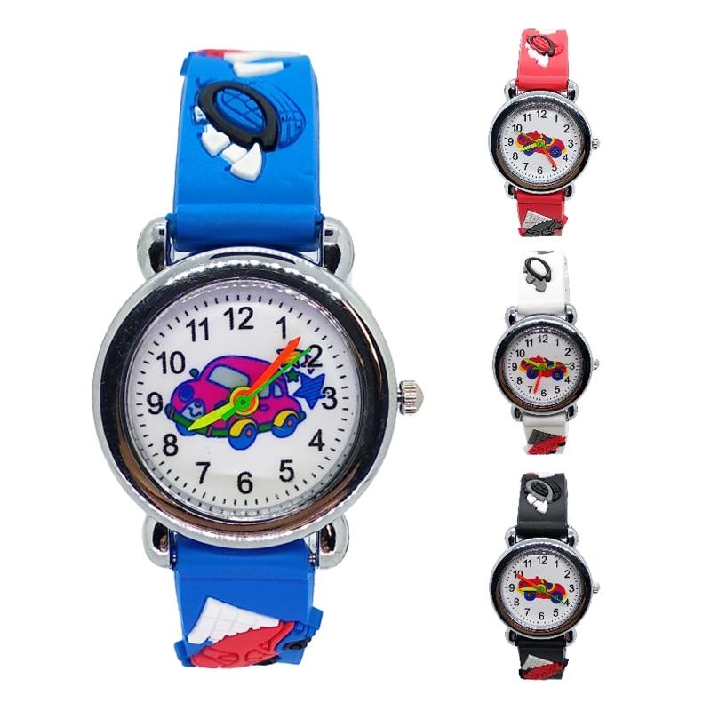 Low Price Good Quality Children Watch For Students Girls Boys Clock Kids Watches Child Quartz Wristwatch Mini Car Baby Toys Gift