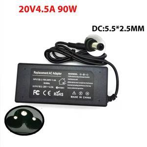 HSW 20V 4.5A 5.5*2.5 Laptop Ac Adapter Charger for Lenovo Ideapad Z485 Z510 Z560 Z565 Z570 Z575 Z580 Z585 U110 U130