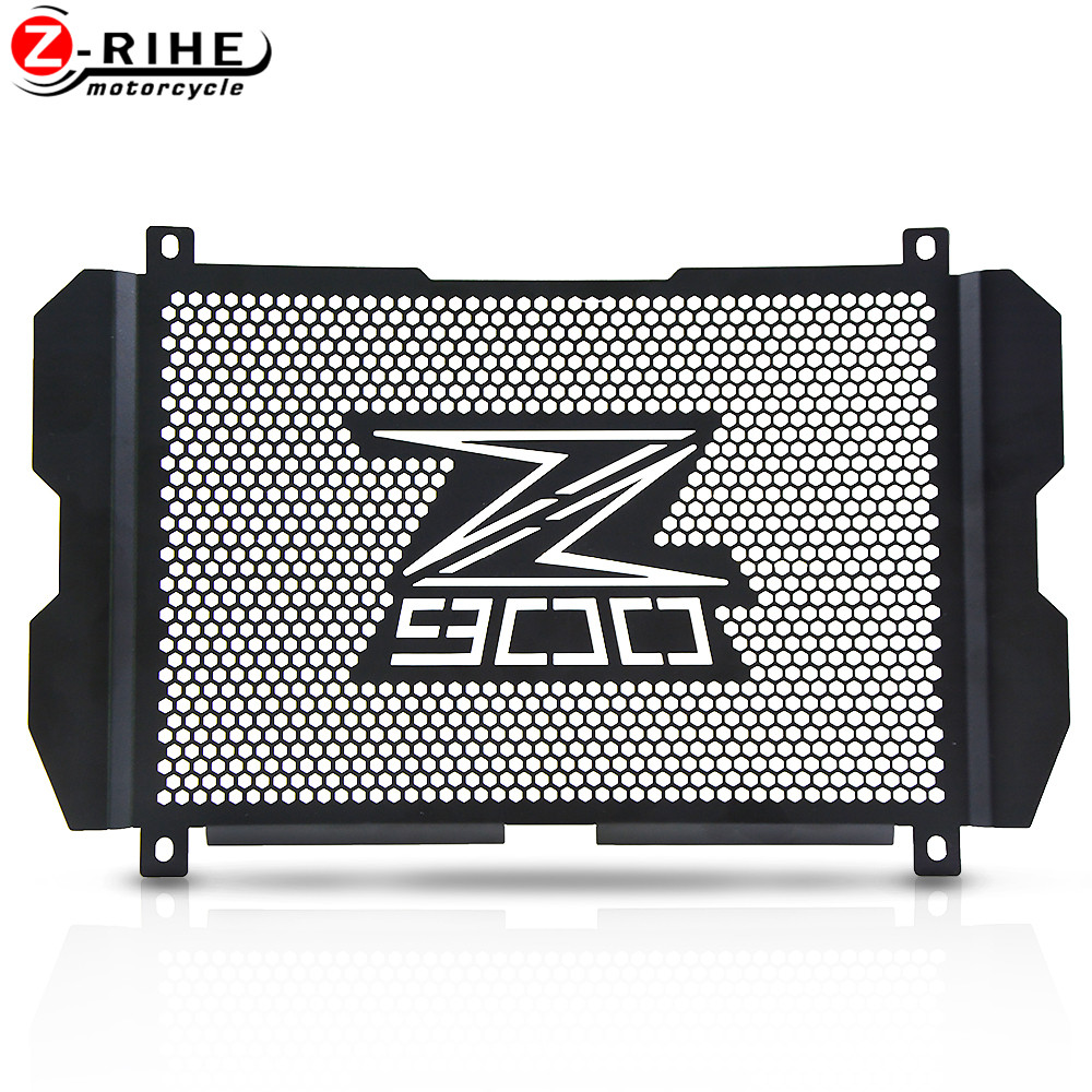 Image 2 - For Kawasaki Z900 Z 900 New Motorcycle Radiator Grille Guard  Protection For Kawasaki Z900 Z 900 2017 2018 2019 2020  AccessoriesCovers