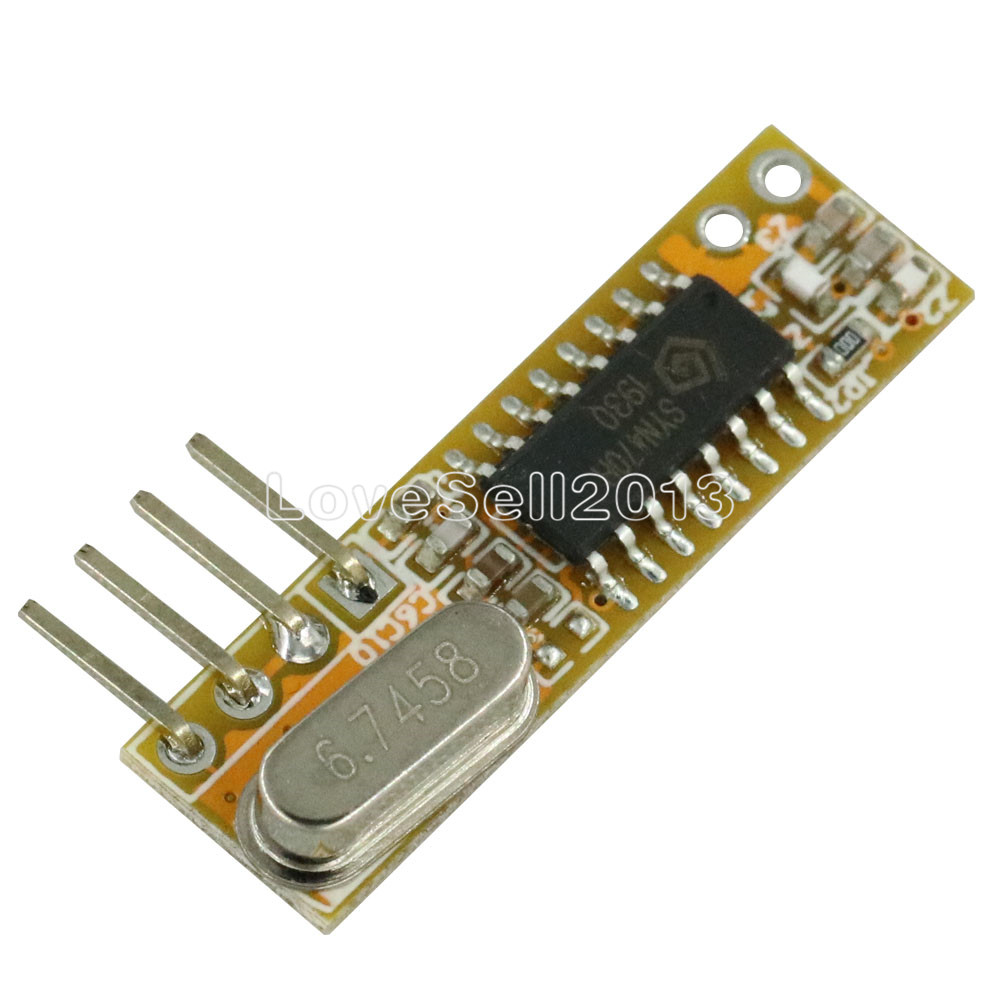 RXB12 433Mhz Superheterodyne Wireless Receiver Precise For Arduino/AVR