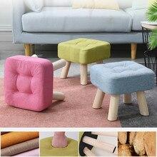 26 см деревянная модная семейная гостиная диван табурет скамейка креативная Маленькая детская скамейка silla para maquillaje деревянный стул оттоманский