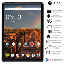 Banque de france 2021 nowy Tablet Pc 10 Cal z systemem Android 9.0 Tablet Octa Core 2GB/32GB podwójna karta SIM 4G LTE telefon dzwoni Tab 7 8 9 10 Tablet 10.1