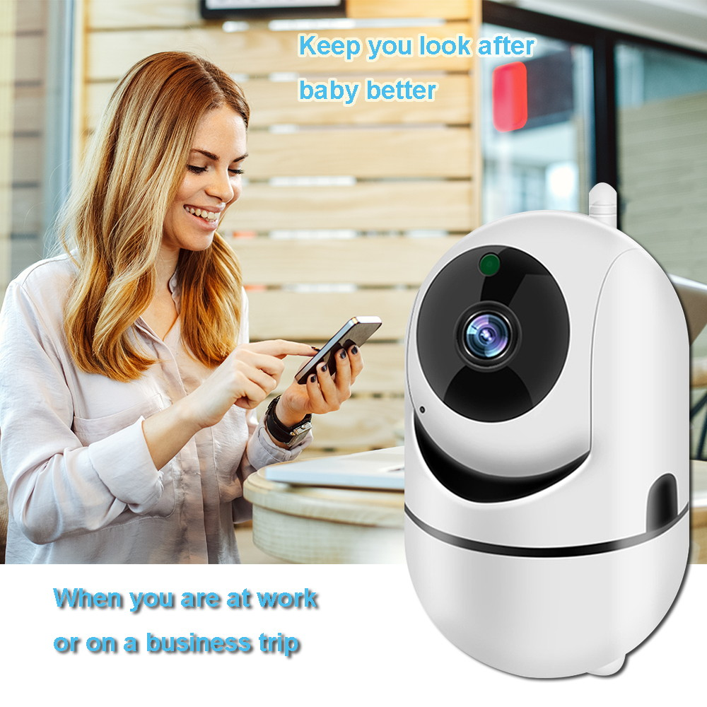 Image 3 - WiFi Baby Monitor With Camera 1080P HD Video Baby Sleeping Nanny Cam Two Way Audio Night Vision Home Security Babyphone Camera-in Baby Monitors from Security & Protection