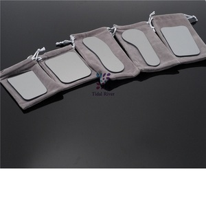 Image 4 - מרפאת שיניים אוראלי אורתודונטי Intraoral רפלקטור מראה צילום 2 צדדי רודיום זכוכית מראות עבור שיניים כלים