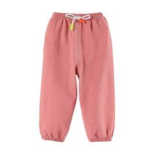 Baby Summer Anti Mosquito Pants New Cotton Linen Children Thin Lantern Pants Kids Cotton Spring Clothing Crawler Loose-Fit Pants