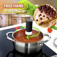 Mão automática livre pasta robótico sem fio agitador/agitar sopa bolo de chocolate ferramentas de três pernas liquidificador automático ferramenta de cozinha