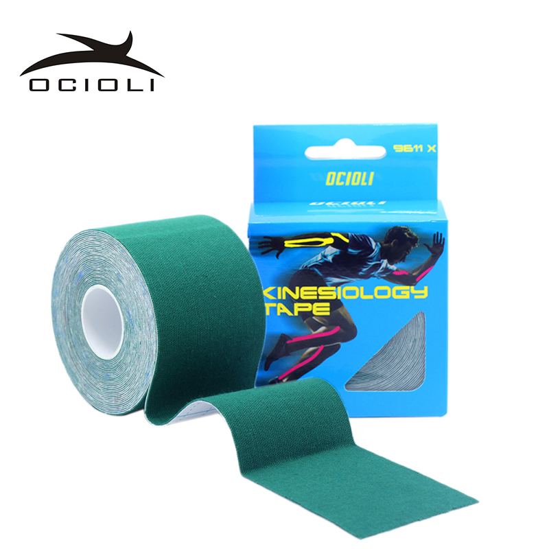 2019ocioli 20 Color 5cm5m Sports Kinesiology Tape Cotton Rock Physical Therapy Basketball Soccer K Active Knee Pain Muscle Tapes