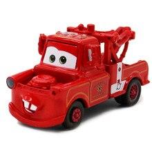 Disney pixar carros 2 3 brinquedos guerreiro mater caminhão de bombeiros raymond mack tio caminhão 1:55 diecast modelo carro brinquedo crianças presente natal