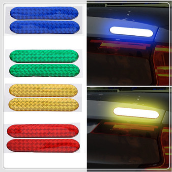 car auto Door Sticker Decal Warning Tape Reflective FOR Peugeot Jeep Harley-Davidson Buick Bentley Scania 6008 301 408 image