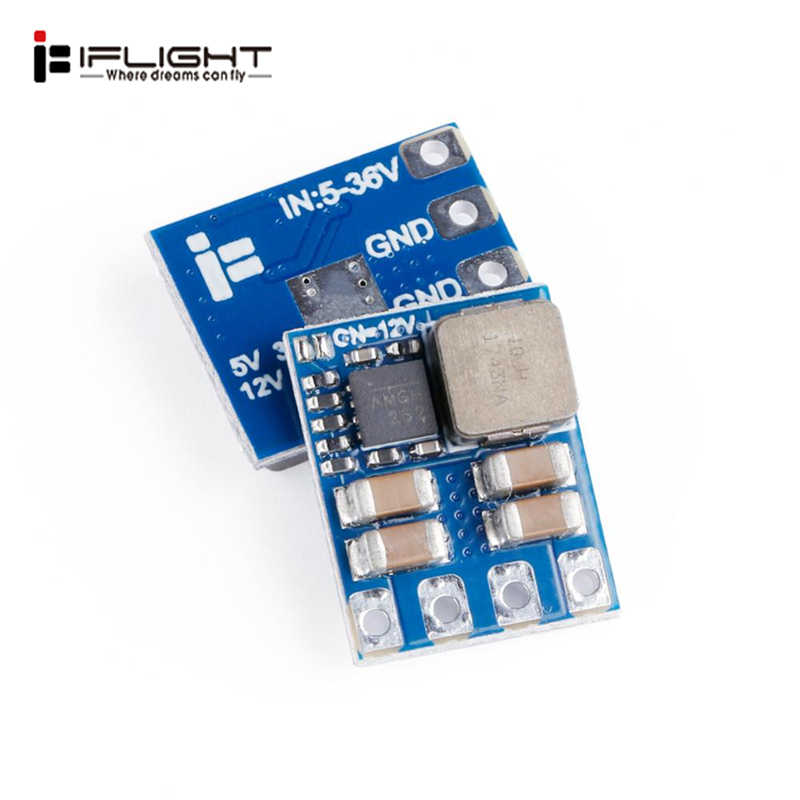 Iflight BEC 2-8S 5V 2A 12V 3A Switchable untuk RC Drone FPV Racing Multicopter Spare bagian DIY Aksesoris