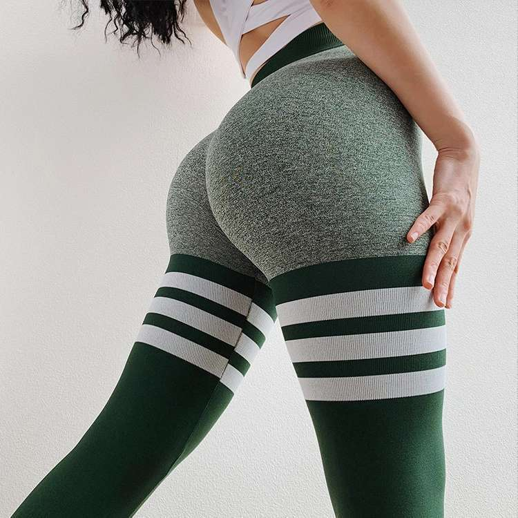 Online Celebrity Peach Buttock Lifting Fitness Pants Women's Quick-Dry Elasticity Yoga Ninth Pants High-waisted Leggings Running