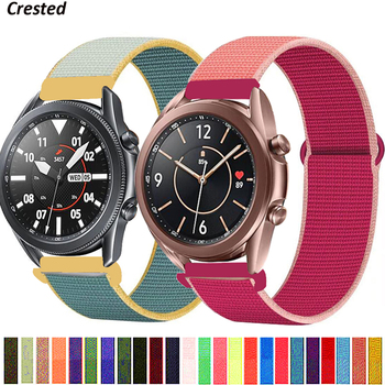 20/22mm band For Galaxy Watch 3/46mm/42mm/active 2 strap Samsung Gear S3 Frontier Sport Nylon Bracelet Huawei watch GT 2 41 45mm