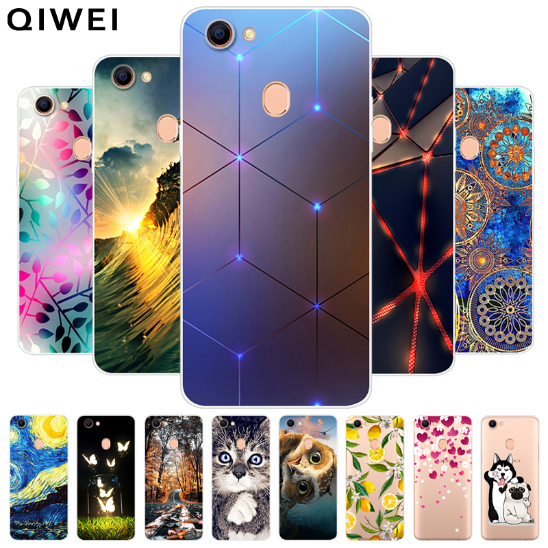 For <font><b>OPPO</b></font> F5 <font><b>Case</b></font> Fashion Soft TPU <font><b>Cases</b></font> For <font><b>OPPO</b></font> F5 Youth Silicone Back Cover for <font><b>OPPO</b></font> f 5 Phone <font><b>Cases</b></font> Fundas For <font><b>OPPO</b></font> <font><b>F7</b></font> F9 F 9 image