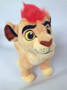 Image 4 - את האריה משמר Kion בפלאש צעצוע חמוד חיות פרווה 35cm 14 תינוק ילדים בני ילדים מתנות
