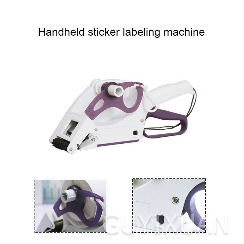 Commercial handheld labeling machine 20-30mm automatic labeling machine Sticker labeling machine