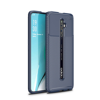 style protective For OPPO Reno2 Z Case Business Style Silicone Rubber Shell Back Phone Cover For OPPO Reno 2 Z Protective Case For OPPO Reno 2Z (3)