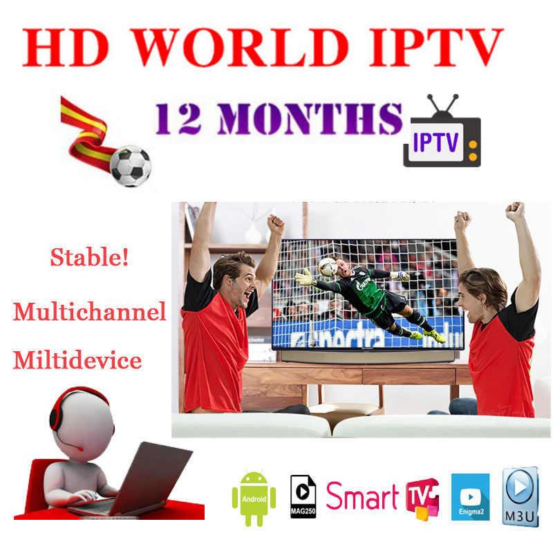Świat IPTV box android holenderski francuski włochy arabski afryka sport indyjski Pakistan filipiński wietnam inteligentny IPTV M3U Smart Tv MA9 XXX
