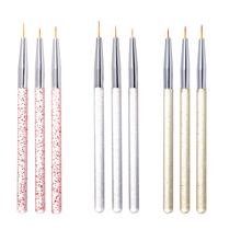 Brush Uv-Gel-Polish Manicure-Tools Nail-Art-Liner Pencil-Beauty DIY Painting-Pens Graffiti