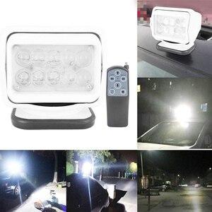 Image 4 - 50W Auto FÜHRTE Taschenlampe Suchscheinwerfer Automotive Marine Suche Licht für Lkw SUV Yacht Boote