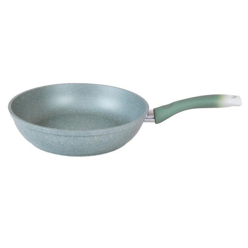 Frying Pan Kukmara, Marble, Фисташковый Marble, 22 Cm