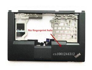 Image 2 - Nouveau Palmrest boîtier supérieur clavier lunette avec touchpad bouton haut parleur câble pour Lenovo Thinkpad T430S ordinateur portable 04W3496 04X4612