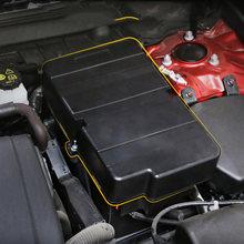 Для mazda 3 2020 axela аксессуары abs крышка автомобильной аккумуляторной