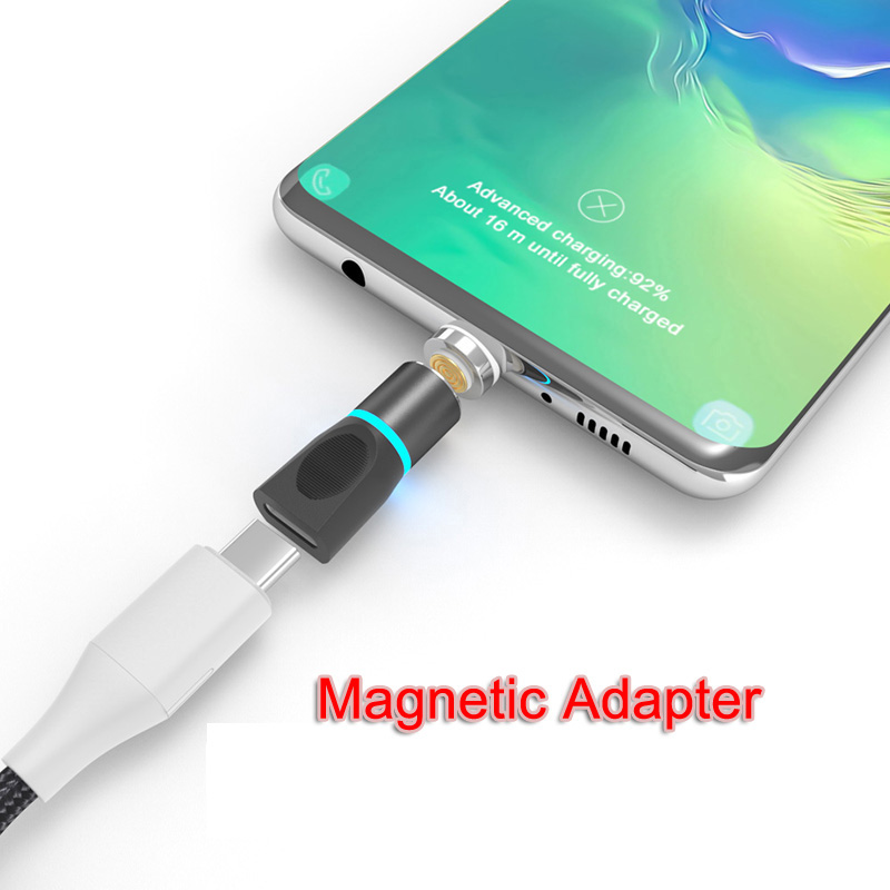 USB Type C Magnetic Adapter For Samsung S10 S9 Plus Note10 9 C9pro A50 A40 A30 LG G8 G7 V30 Nexus 5X Magnetic Charger