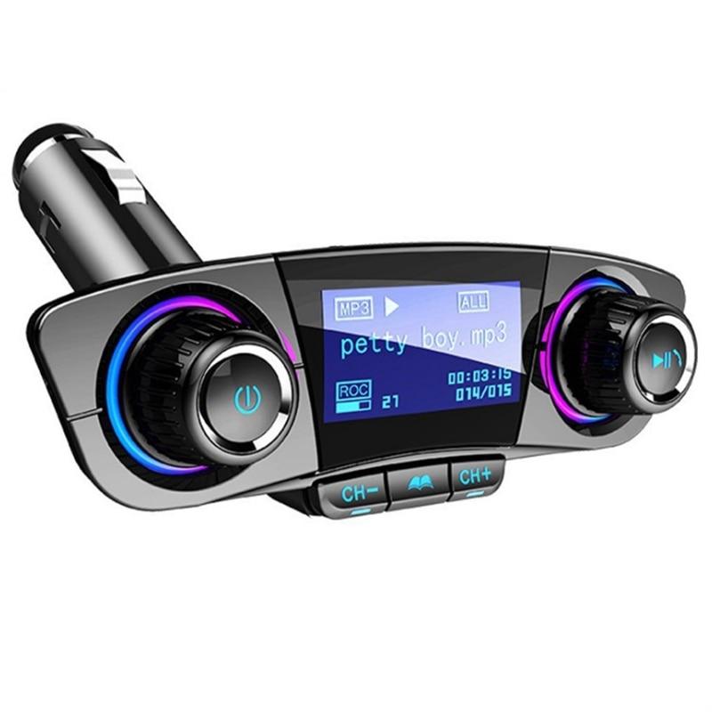 Car MP3 Player Car Bluetooth Receiver U Disk 12V24V Universal Aux Car Bluetooth Receiver Car Radios     - title=