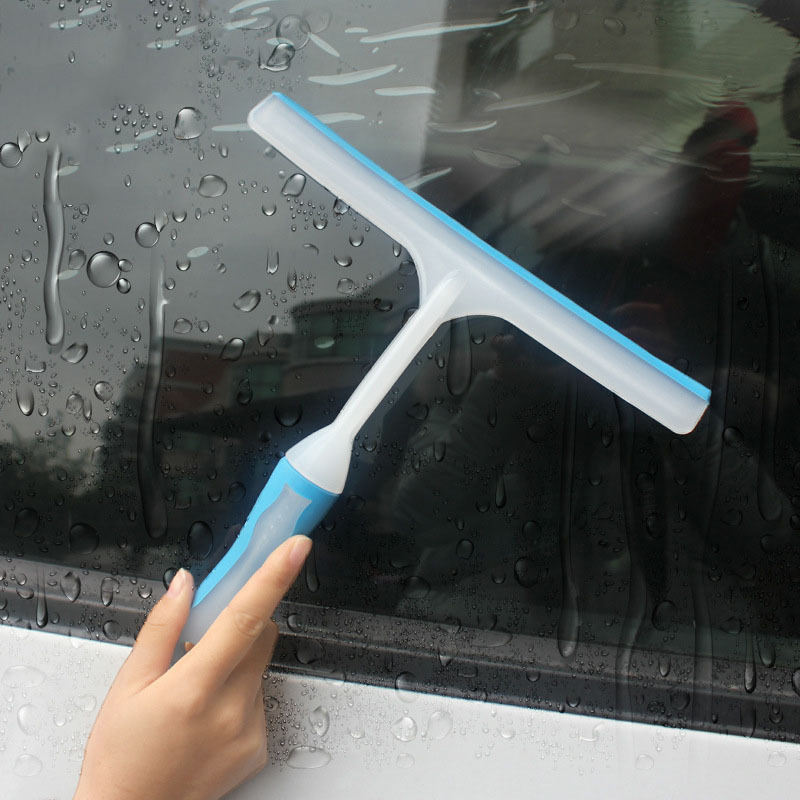2019 New Car Silicone Water Wiper Soap Cleaner Scraper Blade Squeegee Car Windshield Window Cleaning Tool