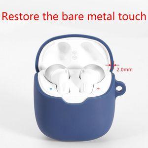 Image 3 - Coque de protection en Silicone Anti chute étui pour écouteurs pour JBL Tune 220 TWS sans fil Bluetooth écouteurs accessoires