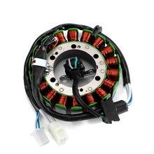 Tdm850 magneto do estator de ignição da bobina da motocicleta para yamaha tdm 850 1996 2001 magneto bobina 4tx 81410 00 do estator do gerador do motor
