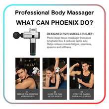 Phoenix A2 Electronic Massage Gun Therapy Body Massager Professional Muscle High Frequency Device