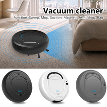 1200PA Vacuum Cleaner Automatic Home Dry Wet Floor Smart Sweeper Rechargeable 3-In-1