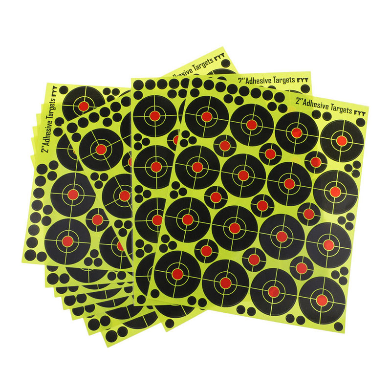 160Pcs/set 2 Inch Splatter Target Shooting Stickers Archery Replacement Accessories Shooting Target