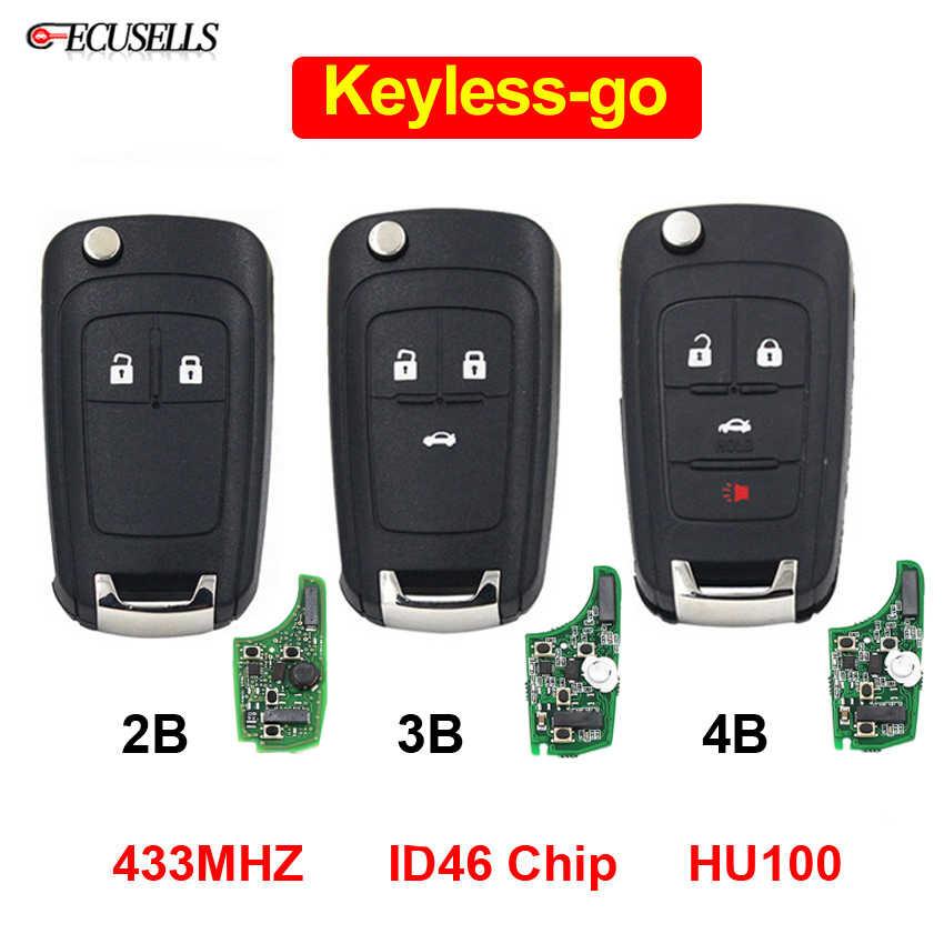 Keyless Go Folding Flip Remote Smart