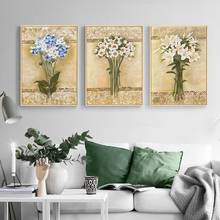 Yuke Art Painting Decor Flowers Canvas Wall Art Photo Poster and Print Painting Picture for Living RoomHome Decoration