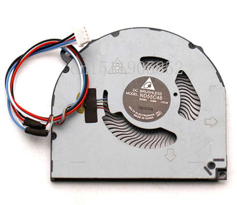 Free Shipping ND55C46-17C16 5V 0.50A For Lenovo Notebook  Fan MIIX 520 121KB