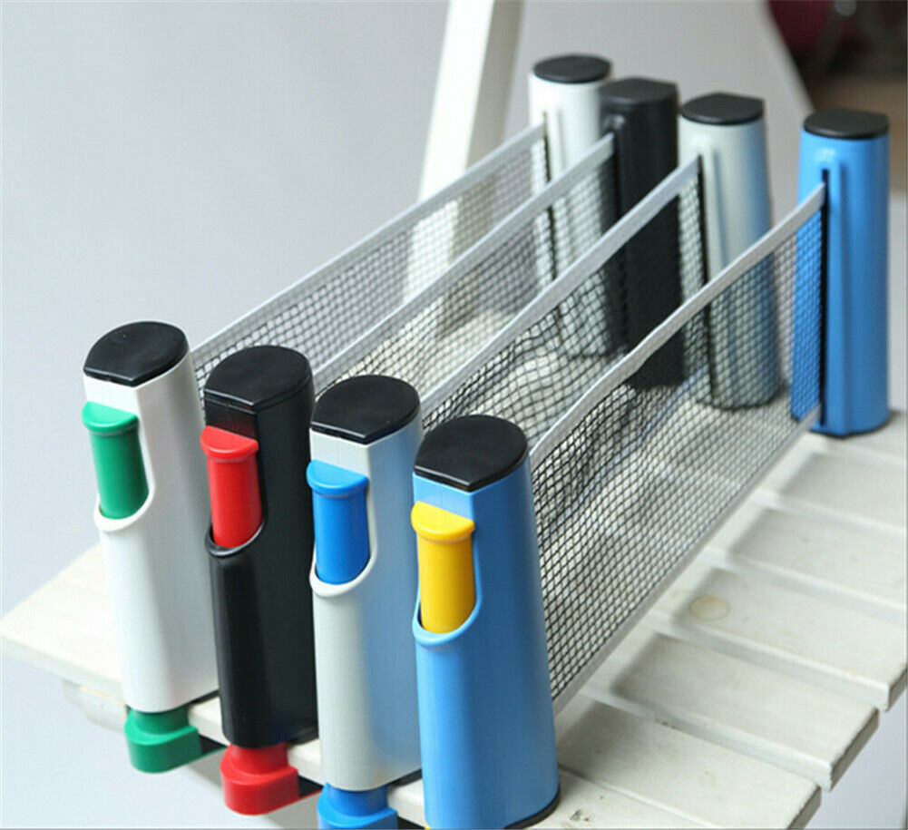 Anywhere Retractable Ping Pong Table Tennis Net Ping Pong Post Net Rack Table Tennis Accessories Equipment