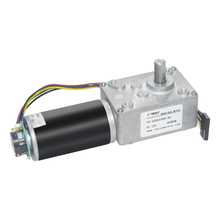 Encoder DC Turbo Worm Gear Motor 12V High Speed 110 RPM Reversible with and Cable for Robot Toys Intelligence Appliance